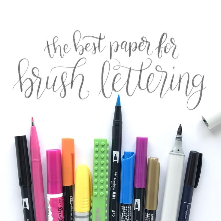 45 best Watercolor Creations images on Pinterest | Brush lettering ...