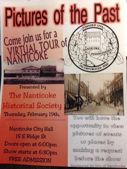 Nanticoke Virtual Tour presented by HNS at the Nanticoke City Bldg. Feb 19. 2014