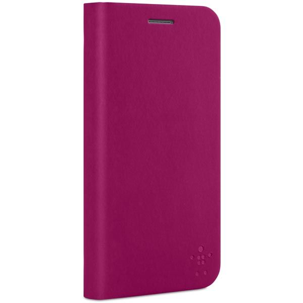 Belkin Classic Folio, fodral i polyuretan Galaxy S5, rosa i gruppen Mobiltelefon & Surfplatta / Samsung smartphone / Galaxy S5 hos Mobilkoden.se (F8M921B1C02)