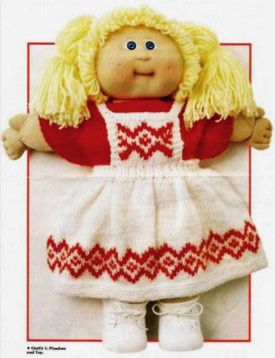 knitting patterns for cabbage patch from cabbage