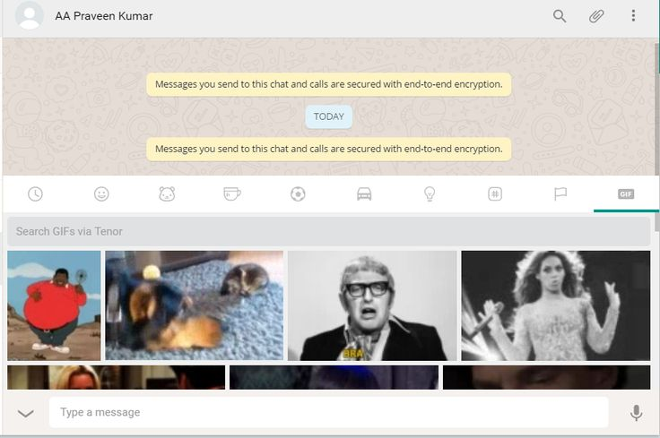 WhatsApp has added the most interesting feature to the WhatsApp web with the new update. The latest update now allows you to search for 'GIF' images via Tenor which has the largest 'GIF' database. Also, the update has brought a refreshing look to the app in Windows mobile with the new update 2.17.2.0  To search 'gif' images, just type the keyword you want to search and press enter. You will find hundreds of 'GIF' images related to your search query. Very interesting, isn't it?  The 'GIF'…