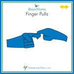 Picture Card Finger Pulls 4in