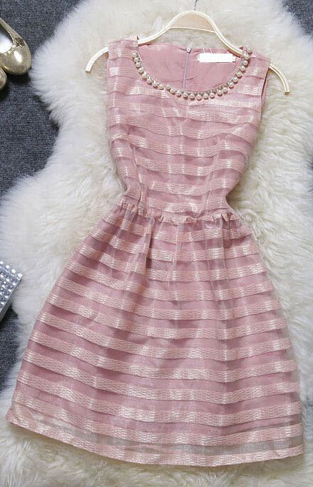 Sweet Striped Dress
