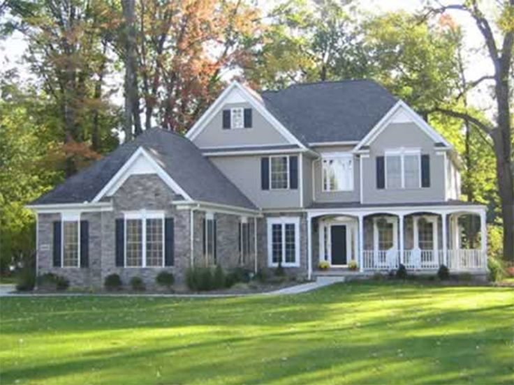 Best Floor Plans Images On Pinterest Architecture Home - Country house plans 2 story home