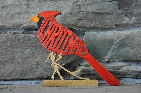 Cardinals Puzzles Http Www Etsy Com Listing 12552471