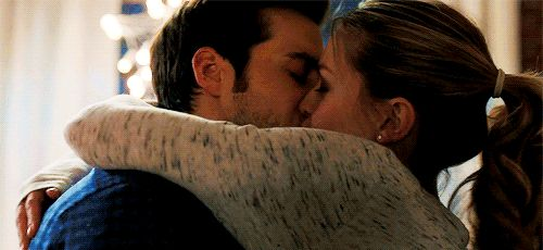 "The fact that Kara and Mon-El kissed (ok,""made out"" is probably a more accurate term) for long enough to fill several gifs makes me very happy. Because, FINALLY!(This gorgeous gif is from karadavers on tumblr.) 