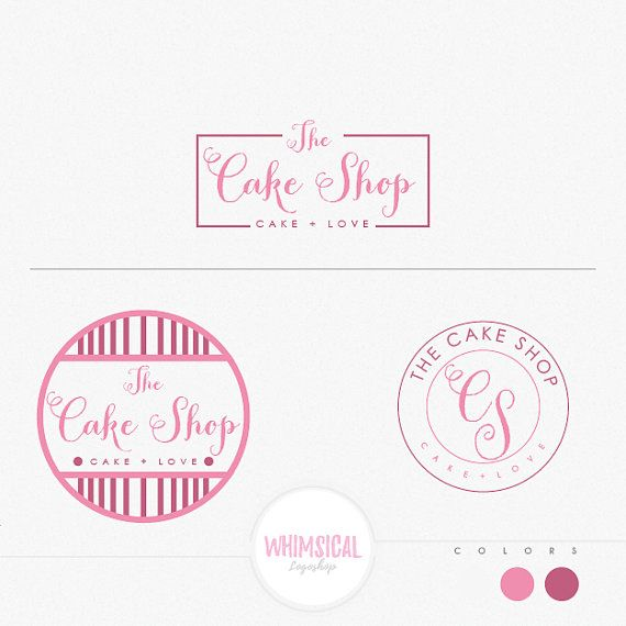 15 best images about premade bakery logo on pinterest