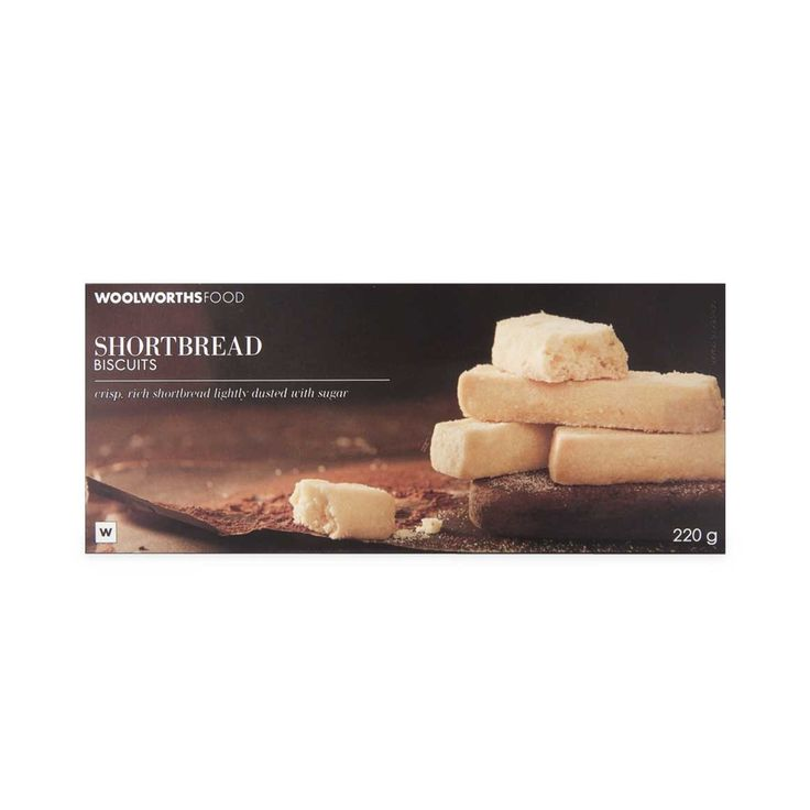 Biscuits Shortbread 220g