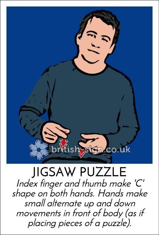 JIGSAW PUZZLE - British Sign Language (BSL)
