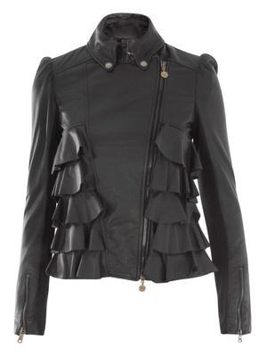 patrizia pepe leather jacket