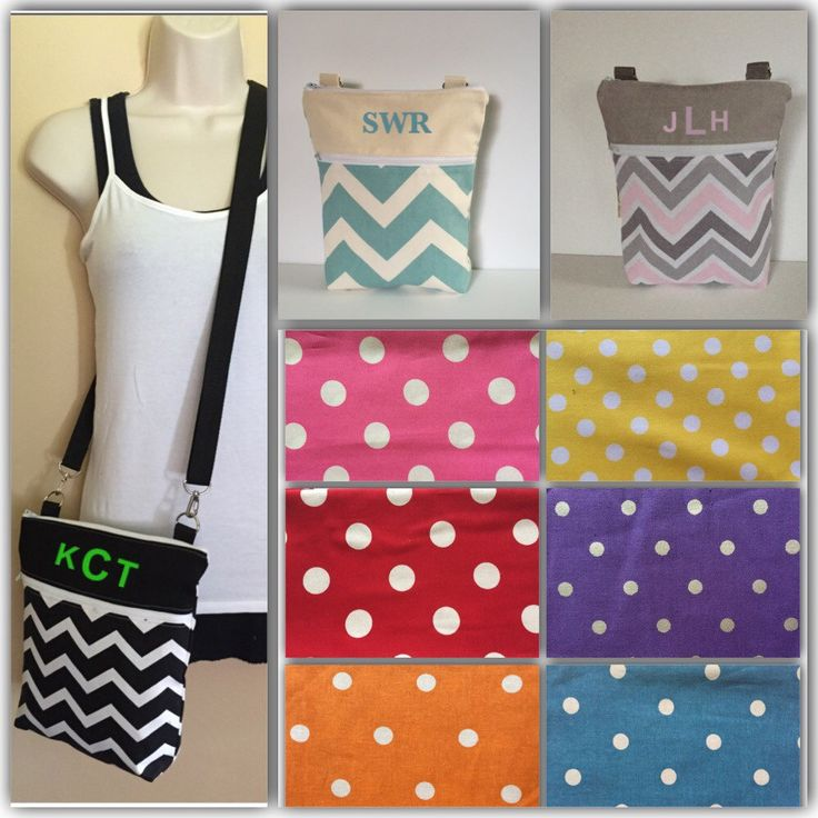New to Sewdivine77 on Etsy: Choose your POLKA DOT color and PERSONALIZE this crossbody/sling bag/shoulder bag (24.99 USD)