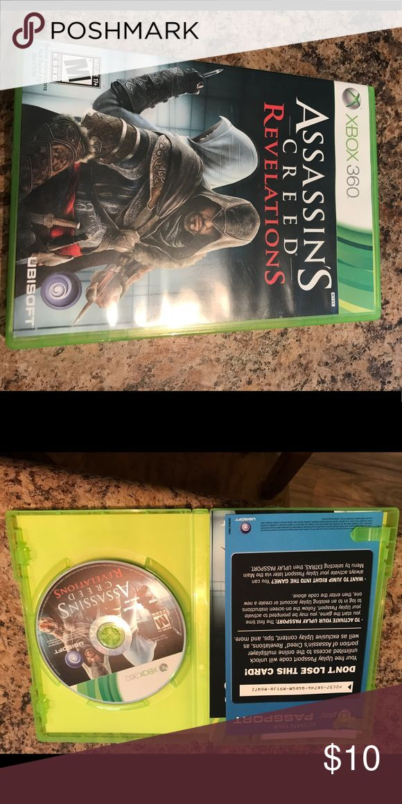 Xbox 360 game Assassin's Creed Revelations Xbox 360 game. Case and disc are in perfect condition. Other