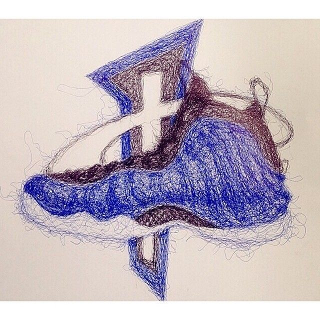 Drawings Of Foamposites 37 best images about S...