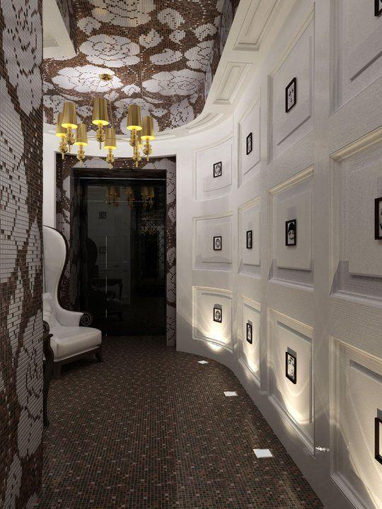 Проект дизайнера-архитектора Дианы Лободюк, ресторан в центре Киева