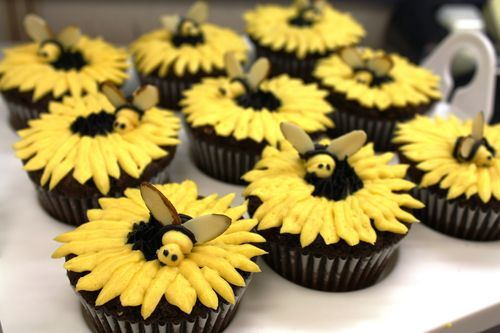 Bee's cupcakes :)