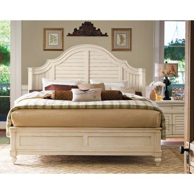 Paula Deen Home Steel Magnolia Panel Bed, Size: Queen - UNIR1197-1