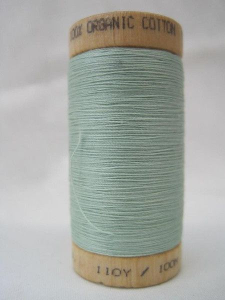 Sale! Get 20% off our Seafoam Green thread http://organiccottonplus.com/collections/on-sale/products/thread-seafoam-green  Thread-Seafoam Green