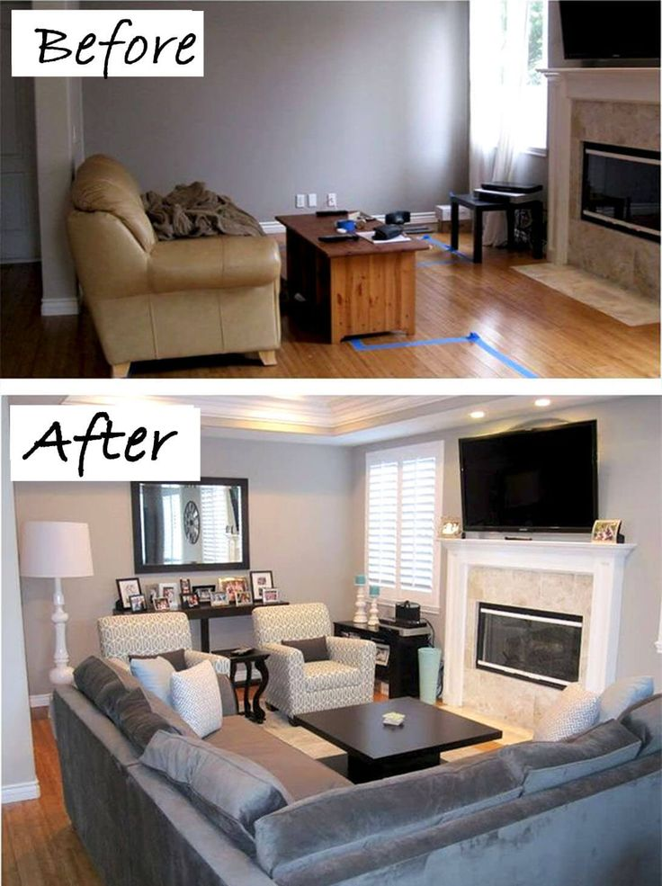 before and after 26 budget friendly living room makeovers to inspire you small rooms feng. Black Bedroom Furniture Sets. Home Design Ideas