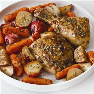 ... | Recipe | Herbes de provence, Chicken potatoes and Roasted chicken