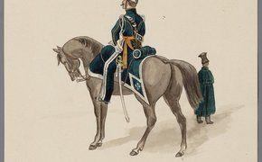 lancier van het 10 e regiment 1823
