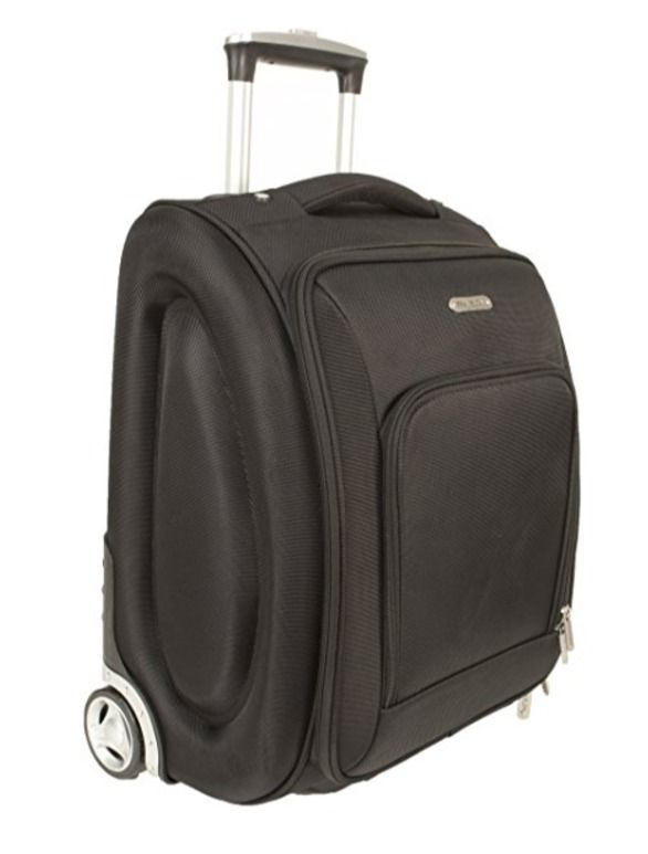"Air Travel Wheeled Under Seat Cabin Luggage Carry On Bag 18"" Black Travelon Trip #Travelon #TravelBag"