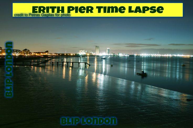 Erith: River Thames-Erith Pier-London-bexley-Time Lapse-Sony FDR AXP33 U...
