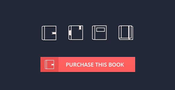 Another awesome freebie for today is a small set of 4 books icons. Free PSD designed by Bluroon.