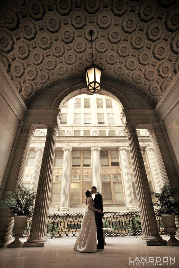 Jill & Jason | Ballroom at the Ben, Philadelphia Wedding Photographer | Langdon Photography