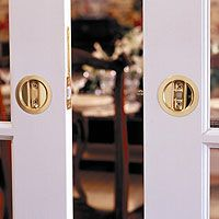 double sliding door locks