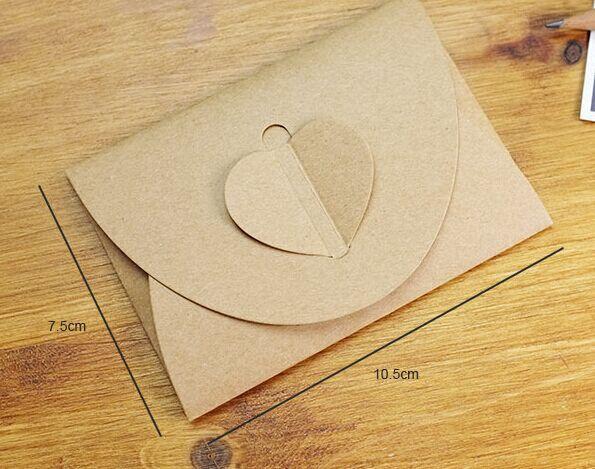 Goedkope ( 50pcs/lot) hartvorm pearlized kraftpapier enveloppen voor bruiloft uitnodiging kaart ambachten/bruiloft decoratie, koop Kwaliteit papieren enveloppen rechtstreeks van Leveranciers van China:  Van harte welkom om onze winkel!~*~*~*~*~*~*~*~*~functies Grootte