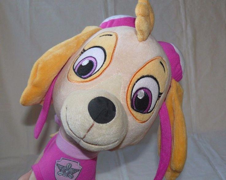 "#PawPatrol #Skye #CuddlePillow Big Stuffed Animal #Plush Aviator Nickelodeon 15""  #Nickelodeon"
