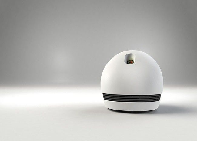 Keecker, el bonito robot móvil que integra proyector, equipo de audio y media center