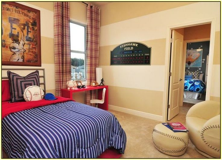 Posts Related To Baseball Themed Bedrooms
