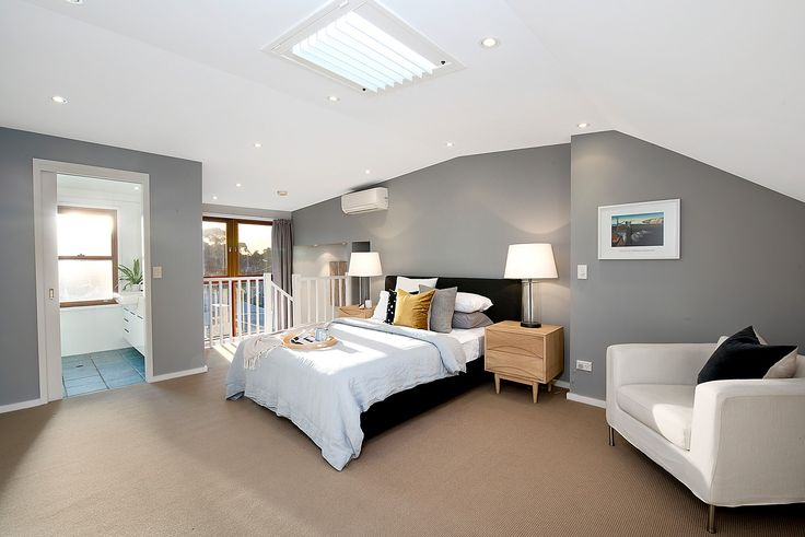 Main king-size bedroom with buit -ins & ensuite
