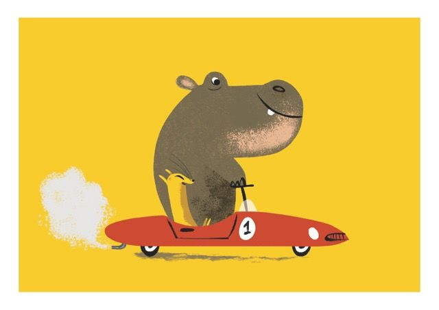 hippo illustrations | Tags: children's books , children's illustration , Hippo , Nicola ...