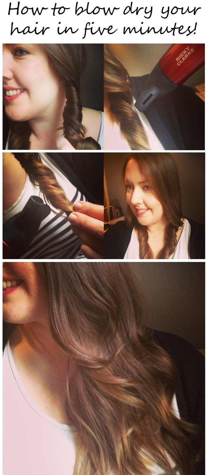 How To Blow Dry Style Hair Best 25 Blow Drying Hair Ideas On Pinterest  Blow Dry Blow Out .