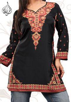 a7374de347 Signature Limited Edition Hip-Length Indian Kurti Tunic | gotta luv tunics  | Tunic, Tunic tops, Fashion