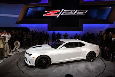 Westside Chevrolet Houston,TX: The 2014 Chevrolet Camaro Z28 Smokes The Competiti...