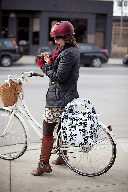 Cyclists don't have to look like... well, cyclists.