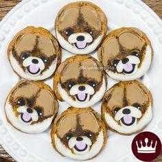 Aprenda a fazer cookies Lulu da Pomerânia