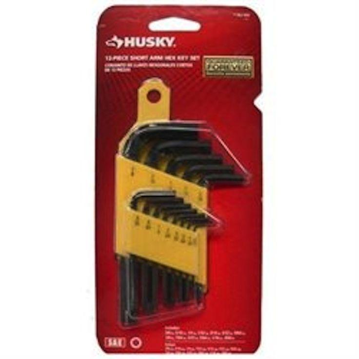 Husky SAE Short-Arm Hex Key Set (13-Piece)