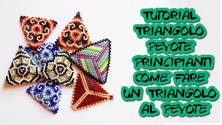 Tutorial Triangolo Peyote Principianti-Come Fare un Triangolo al Peyote