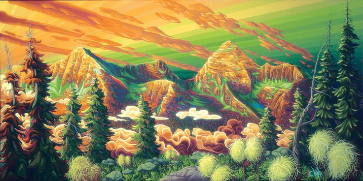 Sir Donald Mtn Peak by Chili Thom