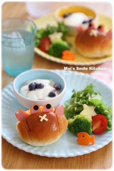 【アンパンマンバーガーのプレートランチ】 の画像|Mai's スマイル キッチン