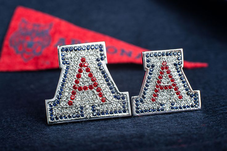 "Mother's Day is Sunday! The silver ""A"" pin makes a great gift for Wildcat moms."
