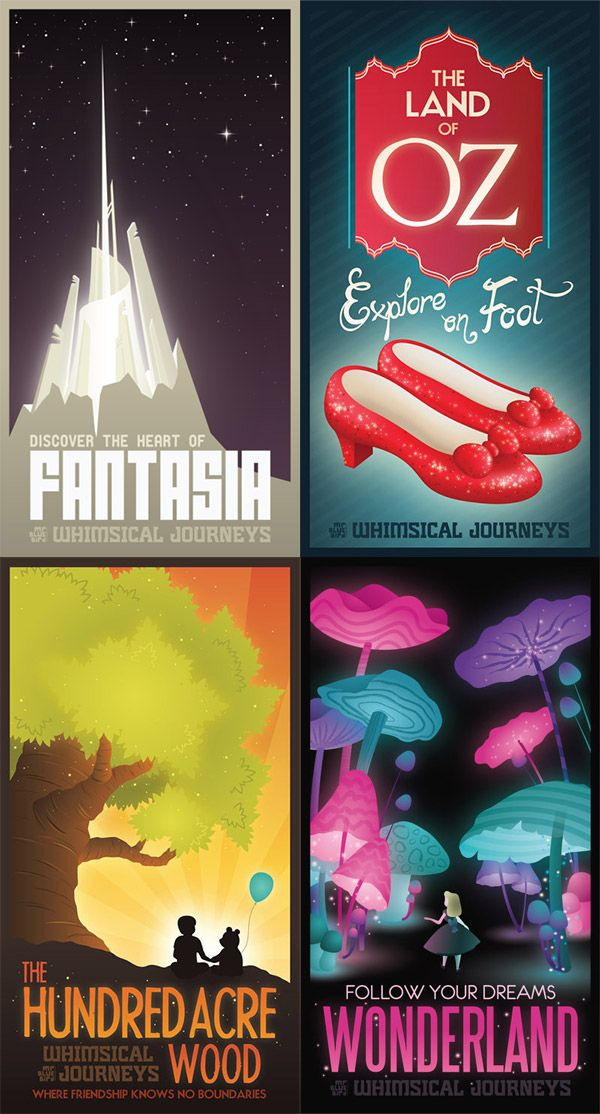 94 best Fantasy Travel Posters images on Pinterest | Retro posters ...