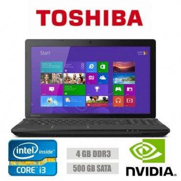 Toshiba Satellite C50 Intel i3 2.4Ghz 4 GB 500 GB GeForce 710M 15.6' Led Usado