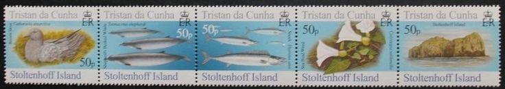 Islands, 6th series stamps, 2006, Tristan da Cunha, 5 stamp set, MNH