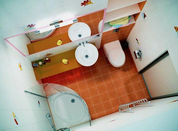 Цвет ванной комнаты не должен отличаться от цельного дизайна квартиры, в том случае - если она не оформлена под определенный стиль. Выбирайте теплые тона. Они не только выглядят замечательно, а и успокаивают. Такими цветами могут послужить бледно -розовый, кофейный, тепло-голубой, бежевый. Сантехника и мебель должны совпадать по дизайну, цветам плитки или стен, а так же соответствовать минимальным принципам интерьера уборной. #дизайн #интерьер #стиль #ванная #сантехника #плитка