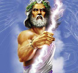 Zeus, the King of the gods
